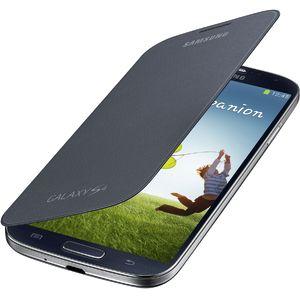 Samsung flipové pouzdro EF-FI950BB pro Galaxy S4 (i9505), černé