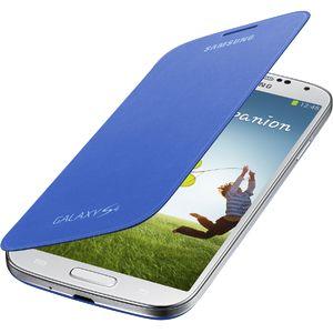 Samsung flipové pouzdro EF-FI950BC pro Galaxy S4 (i9505), modré