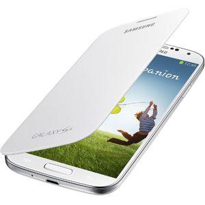 Samsung flipové pouzdro EF-FI950BW pro Galaxy S4 (i9505), bílé
