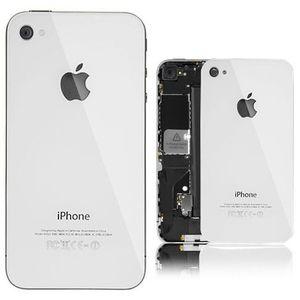 Náhradní díl zadní kryt pro iPhone 4S, bílý