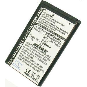 Baterie (ekv. C-S2) pro Blackberry Curve 8520, 8530, 8310, 8320, 8330, Li-ion 3,7V 1000mAh