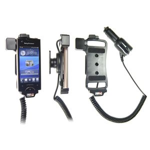 Brodit držák do auta na Sony Ericsson Xperia Ray bez pouzdra, s nabíjením z cig. zapalovače