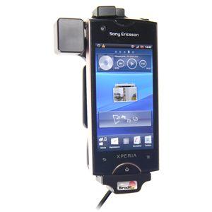 Brodit držák do auta na Sony Ericsson Xperia Ray bez pouzdra, se skrytým nabíjením