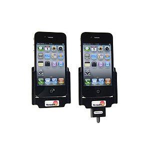 Brodit držák do auta na Apple iPhone 4/4S bez pouzdra průchozí konektor