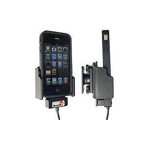 Brodit držák do auta na Apple iPhone 4/4S v pouzdru Skin/Bumper se skrytým nabíjením