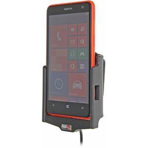 Brodit držák do auta na Nokia Lumia 625 bez pouzdra, s nabíjením z cig. zapalovače