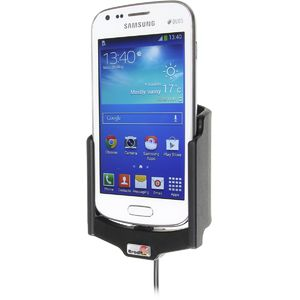 Brodit držák do auta na Samsung Galaxy S Duos 2 GT-S7582 bez pouzdra, s nabíjením z cig. zapalovače