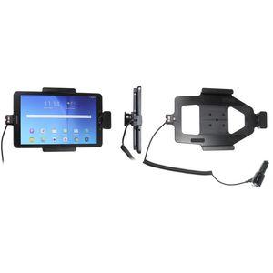 Brodit držák do auta na Samsung Galaxy Tab E 9.6 bez pouzdra, s nabíjením z CL, s pružinou
