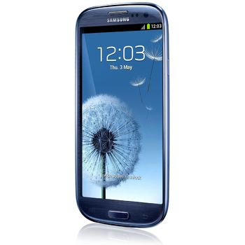 Samsung Galaxy S III modr + nhradn datov kabel