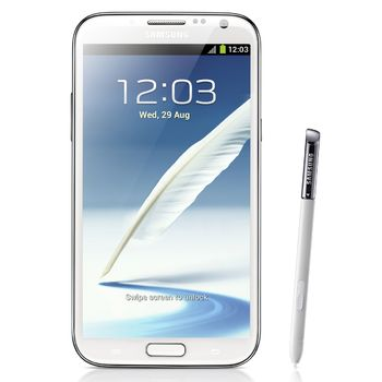 Samsung Galaxy Note II N7100 bílý
