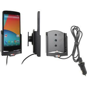 Brodit držák do auta na LG Nexus 5 bez pouzdra, s nabíjením z cig. zapalovače/USB