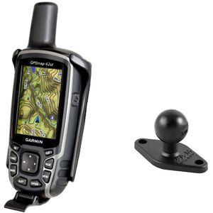 "RAM Mounts držák na Garmin GPSMAP 62 & Astro 320 s lichoběž. adaptérem s 1"" čepem, RAM-B-GA41U"