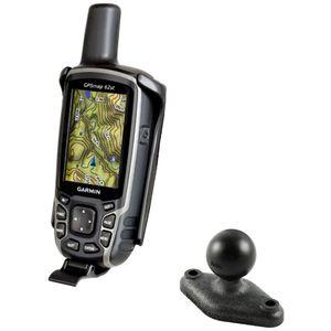 """RAM Mounts držák na Garmin GPSMAP 62 & Astro 320 s lichoběž. adaptérem s 1"""" čepem, tvrzený plast, RAP-B-GA41U"""