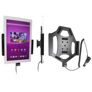 Brodit držák do auta na Sony Xperia Z4 Tablet bez pouzdra, s nabíjením z cig. zapalovače