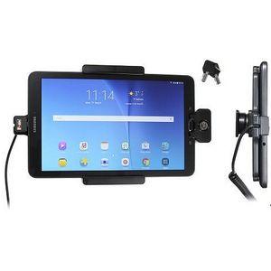 Brodit držák do auta na Samsung Galaxy Tab E 9.6 bez pouzdra,s nabíjením z cig. zapalovače, zámek