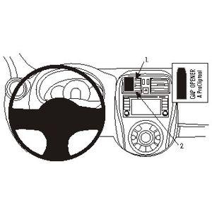 Brodit ProClip montážní konzole pro Nissan Micra 14-17