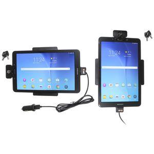Brodit držák do auta na Samsung Galaxy Tab E 9.6 bez pouzdra,s nabíjením z cig.zapalovače/USB,zámek