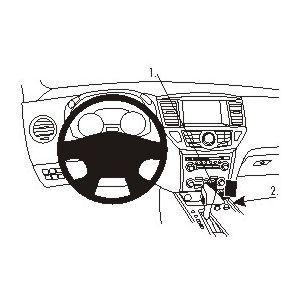 Brodit ProClip montážní konzole pro Nissan Pathfinder 13-17