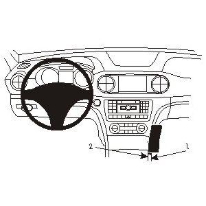 Brodit ProClip montážní konzole pro Mercedes Benz SL-Class 13-17