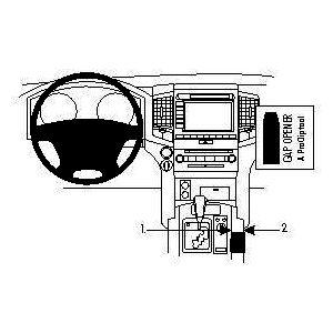 Brodit ProClip montážní konzole pro Toyota LandCruiser 09-17