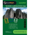SmartMaps Locator: Cyklo-turistický atlas ČR+SR 1:40.000 (Android/Windows Mobile/Win CE/Symbian)