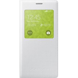 Samsung flipové pouzdro S-View EF-CG800BH pro Galaxy S5 mini, bílé