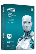 ESET Family Security Pack pro mobily a PC na 12 měsíců, 3 uživatelé, 3xGSM, 3xPC, el. licence