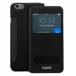 Bugatti BookCover Lausanne pro Apple iPhone 6 4.7, černá