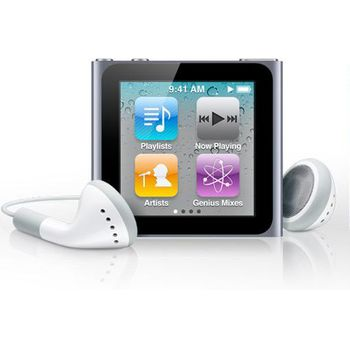 Apple iPod Nano 6th - 8GB (černá/graphite)