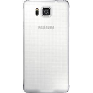 Samsung zadní kryt EF-OG850SW pro Galaxy Alpha, bílá
