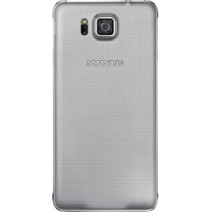 Samsung zadní kryt EF-OG850SS pro Galaxy Alpha, stříbrná