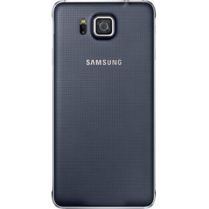 Samsung zadní kryt EF-OG850SB pro Galaxy Alpha, černá