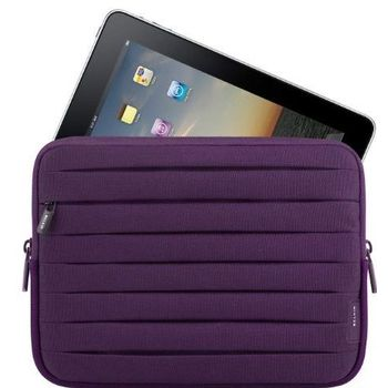 Belkin iPad/iPad2 Sleeve Pleated, fialová (F8N277cw091)