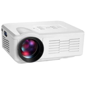 LED mini projektor 480x320px, bílá