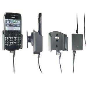 Brodit držák do auta na Nokia E6-00 bez pouzdra, se skrytým nabíjením