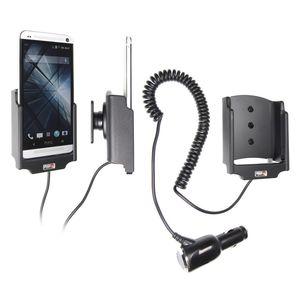 Brodit držák do auta na HTC One bez pouzdra, s nabíjením z cig. zapalovače