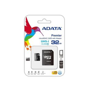 Adata microSDHC 32GB Class 10 UHS-I Premier paměťová karta + SDHC adaptér