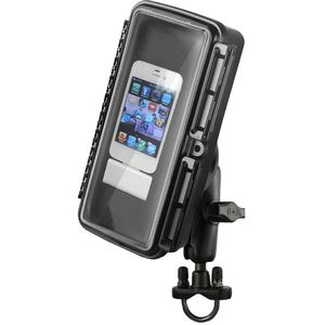 RAM Mounts vodotěsný držák na mobilní telefon na motorku nebo kolo na řídítka, AQUABOX™ velký, Ø objímky 12,7-31,75 mm, sestava RAM-B-149Z-AQ1U