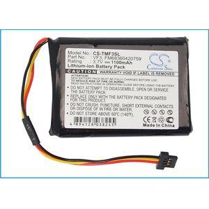 Baterie pro TomTom Go XL330S, 1100mAh Li-ion