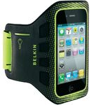 Belkin sportovn pouzdro EaseFit Sport pro Apple iPhone 4/4S na ruku, ern (F8Z894cwC00)
