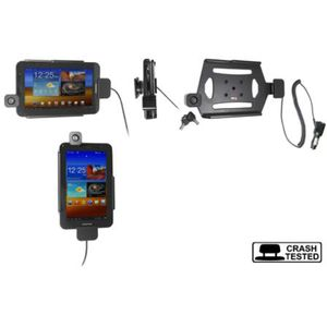 Brodit držák do auta na Samsung Galaxy Tab 2 7.0 P3100 bez pouzdra s nabíjením z cig. zapal./zámek