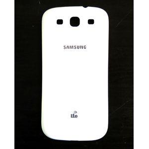 Náhradní díl kryt baterie pro Samsung i9300 Galaxy S III (logo LTE), bílá