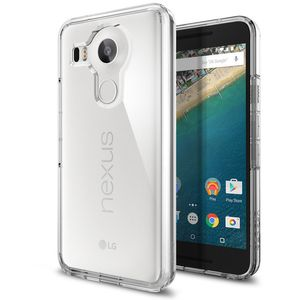 Spigen tenký kryt Ultra Hybrid pro LG Nexus 5X, tranparentní