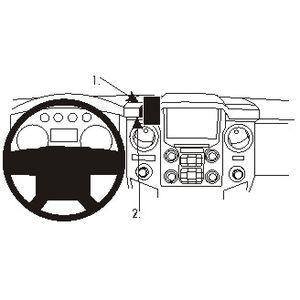 Brodit ProClip montážní konzole pro Ford F-Series 350/450 11-16, na střed vpravo