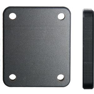 Brodit distanční podložka pod držák s AMPS otvory, 42x50x7mm