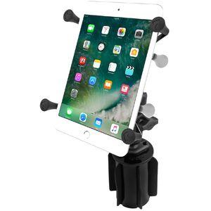 """RAM Mounts univerzální držák na tablet 7"""" až 8"""" do auta do držáku na nápoje, X-Grip, vysokopevnostní plast, sestava RAP-299-3-UN8U"""