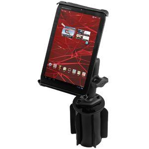 """RAM Mounts univerzální čelisťový držák na tablet 7"""" až 8"""" do auta do držáku na nápoje, vysokopevnostní plast, sestava RAP-299-3-TAB-SMU"""