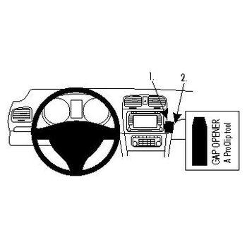 Brodit ProClip montážní konzole pro Volkswagen Golf VI 09 - pouze rozbaleno, záruka 24 měsíců