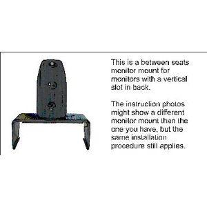 Brodit ProClip montážní konzole pro Volvo S60 00-04, pro LCD s drážkou na zadní straně, mezi sedadla