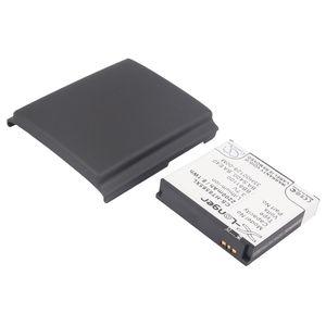 Baterie HTC HD2 (2200mAh) rozšířená BA-S400 včetně krytu